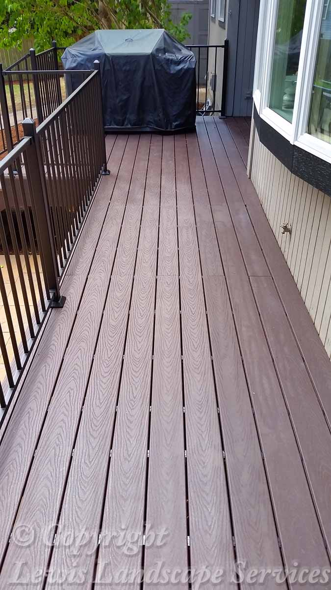 TimberTech Deck Installation we did in Beaverton, Oregon