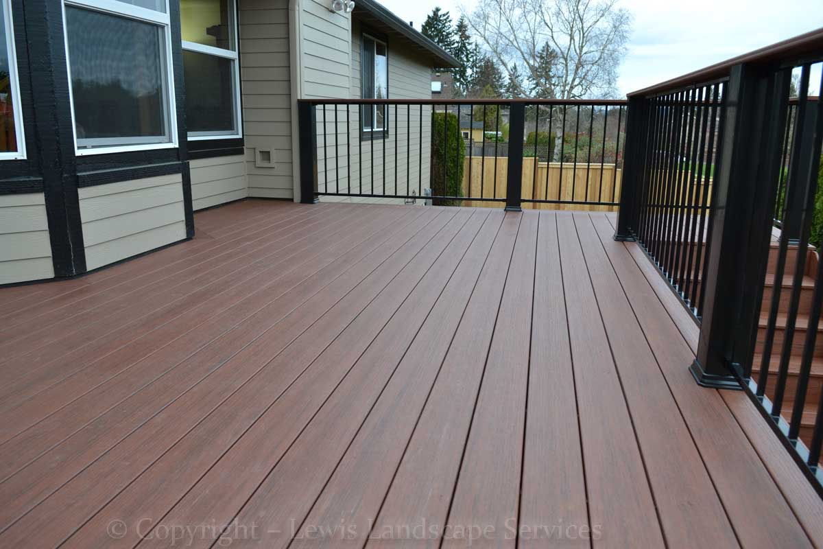 Timbertech Deck we built in Tigard, OR