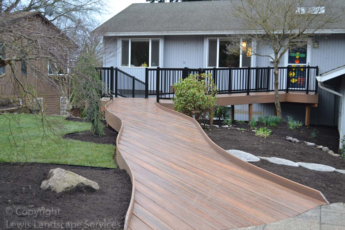 Wheelchair Accessible TimberTech Deck we built in Portland, Oregon