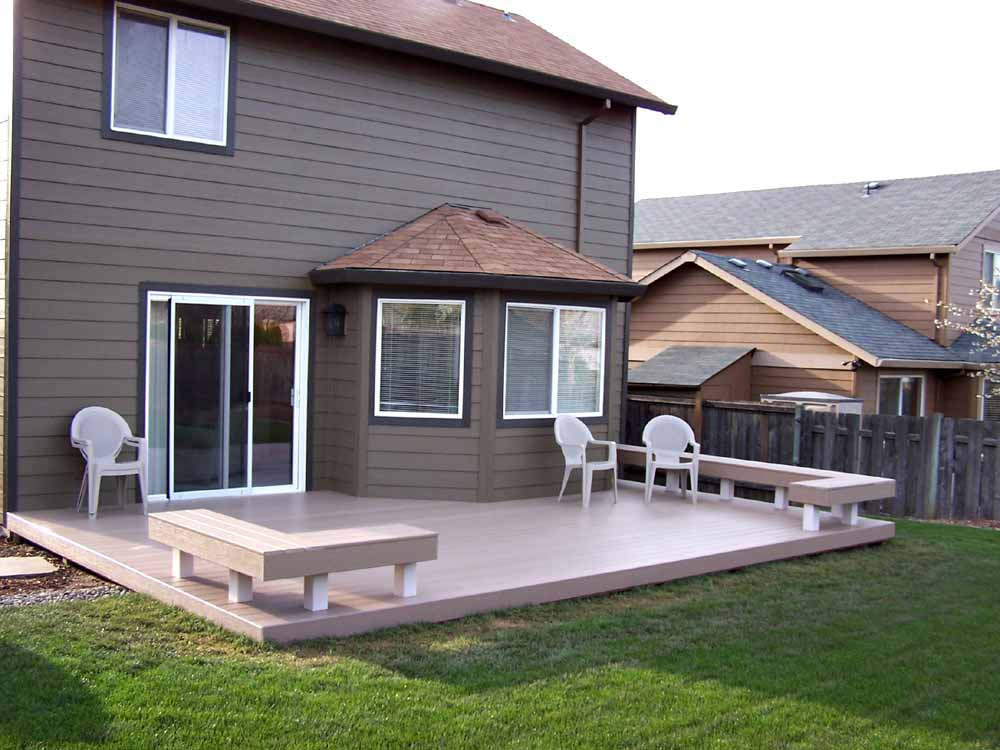 Trex Decking from job we did in Tigard, Oregon