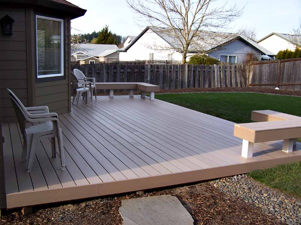 Trex Deck we built in Tigard, OR