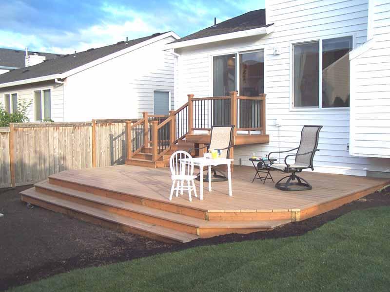 Trex Deck in Tigard, Oregon we built