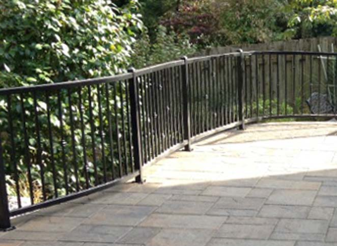 Custom Molded Iron Fence