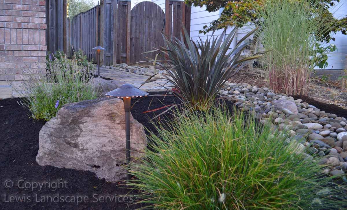 Rock Boulder Accents, Planting