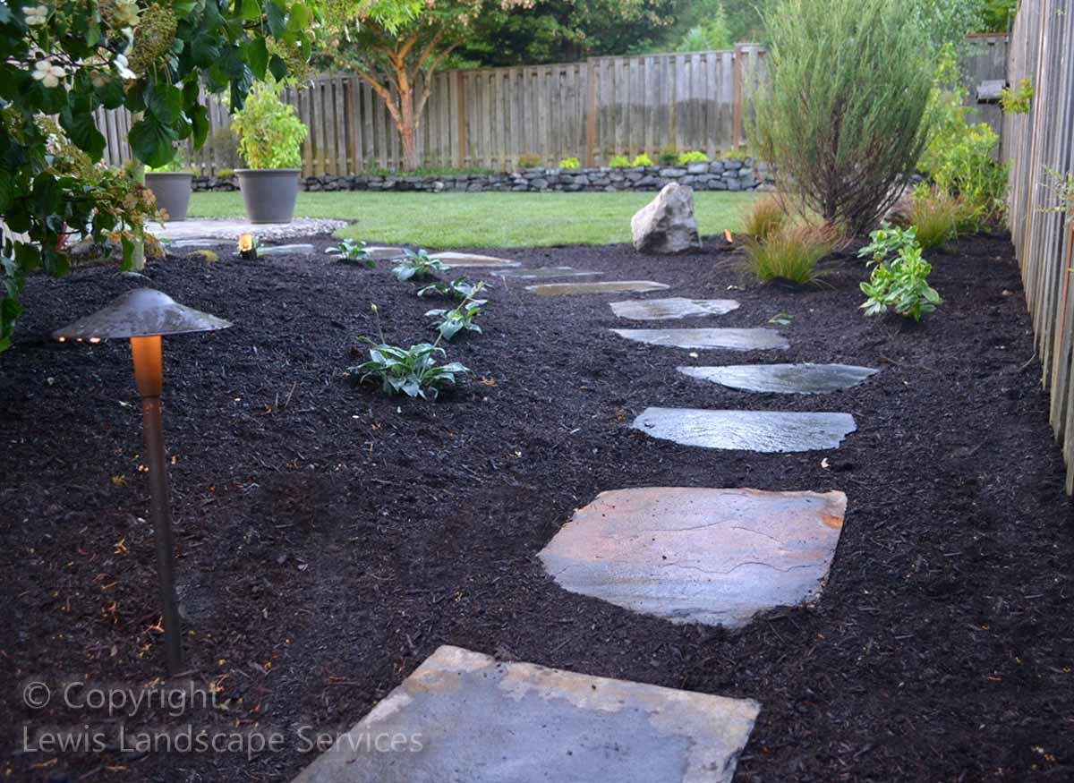 Back Side Yard - Flagston Steps Pathway