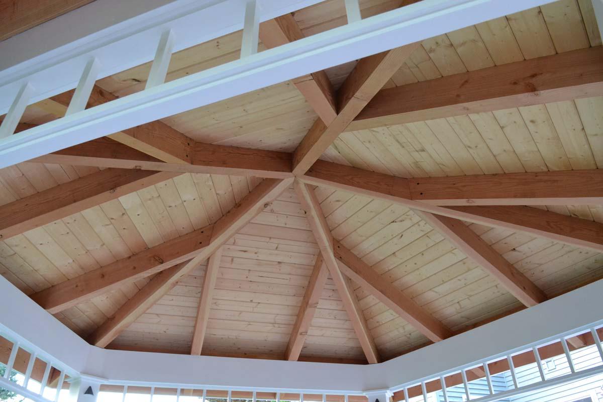 Roof Inside Custom-Made Gazebo
