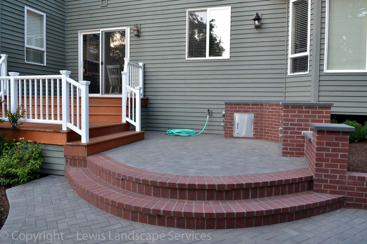 Paver Patio, Deck, Brick Masonry Work