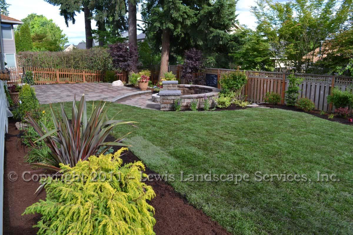 New Sod Lawn, Plants, Patio
