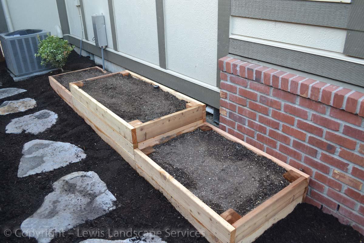Custom-Made Raised Garden Beds