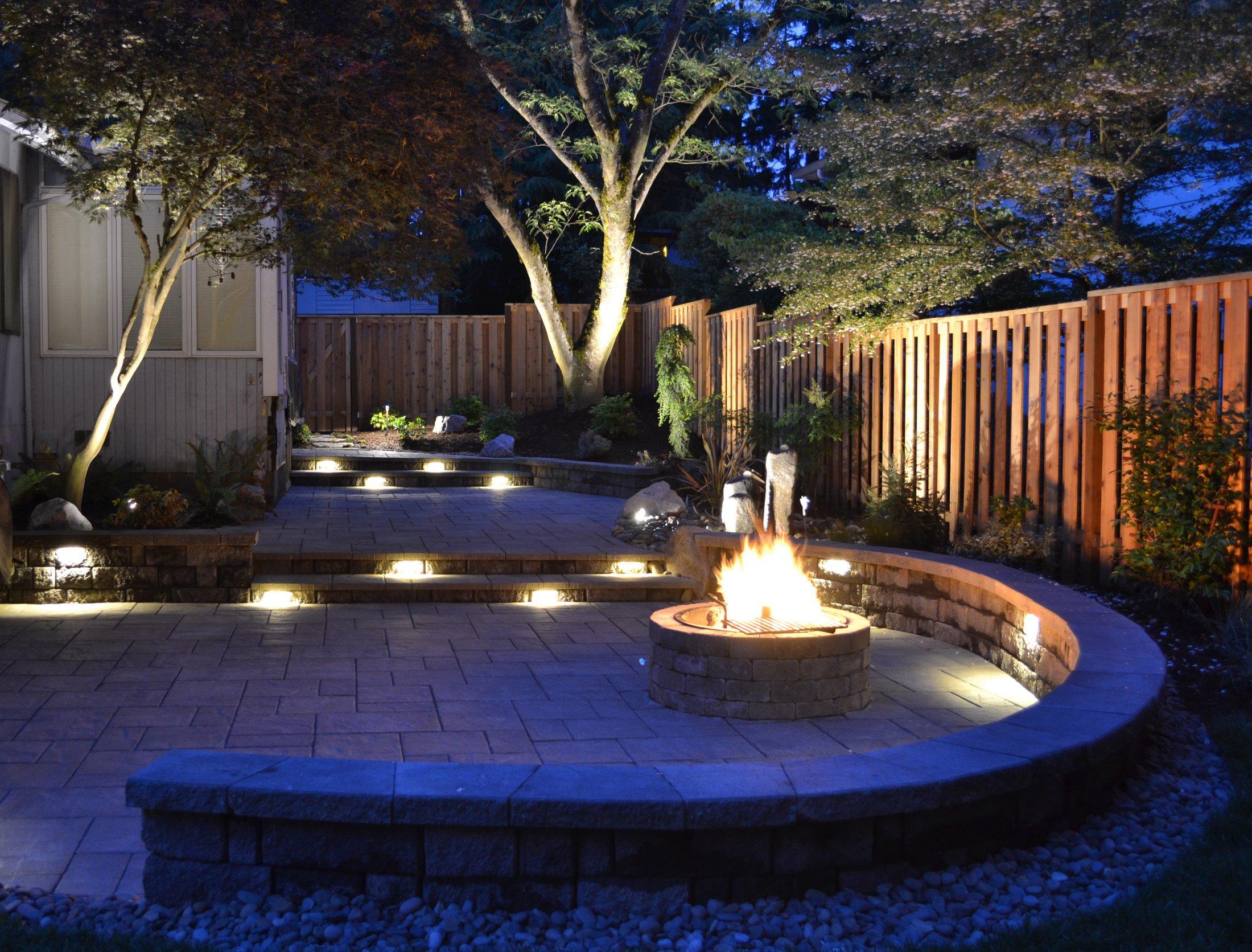 Custom Hardscapes & Outdoor Lighting