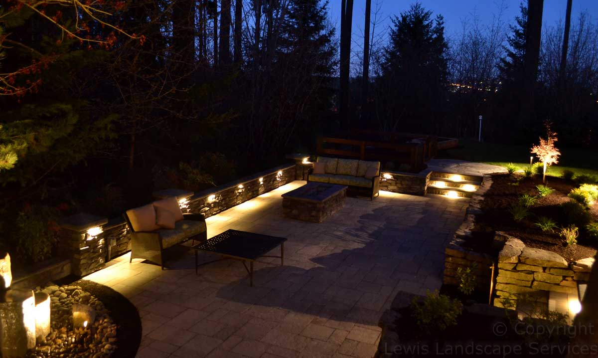 Lighting Patio Area