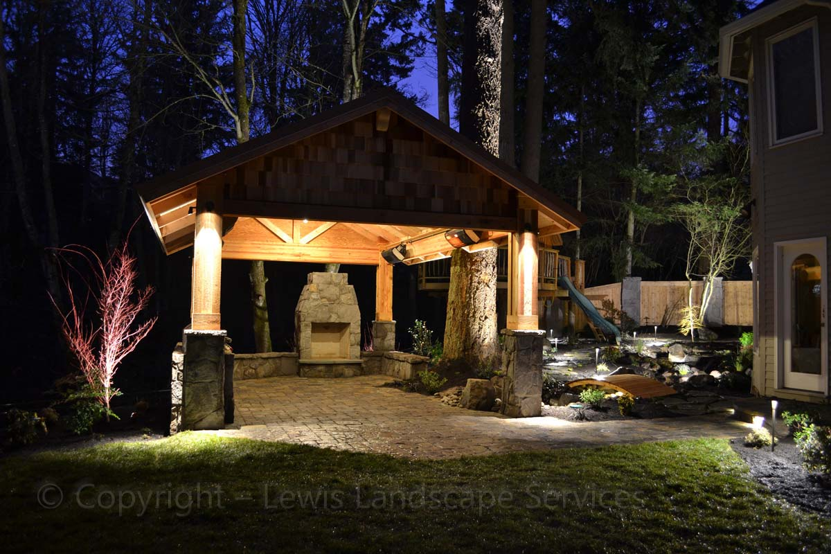 Overall Project Photo at Night