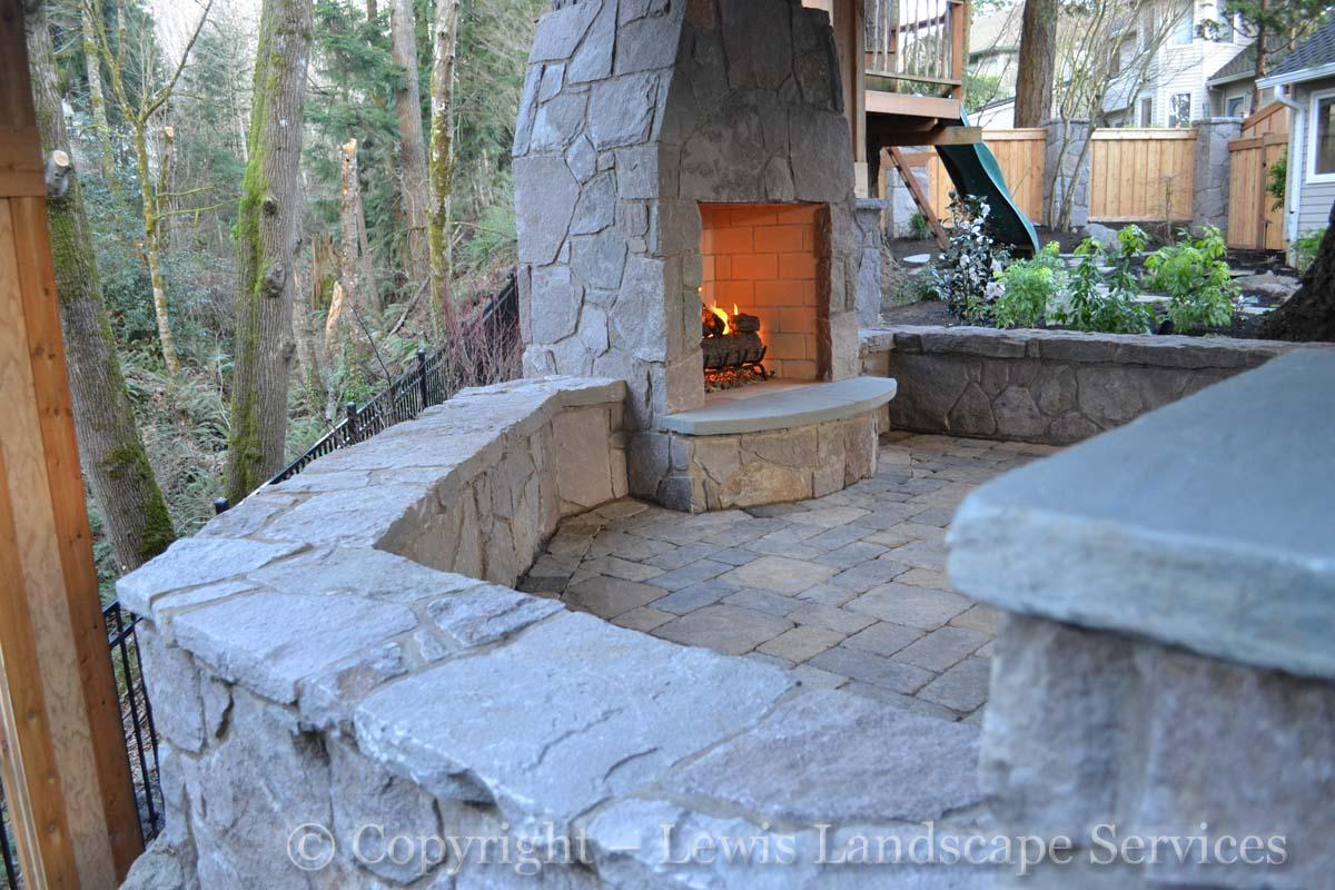 Stone Work & Fireplace