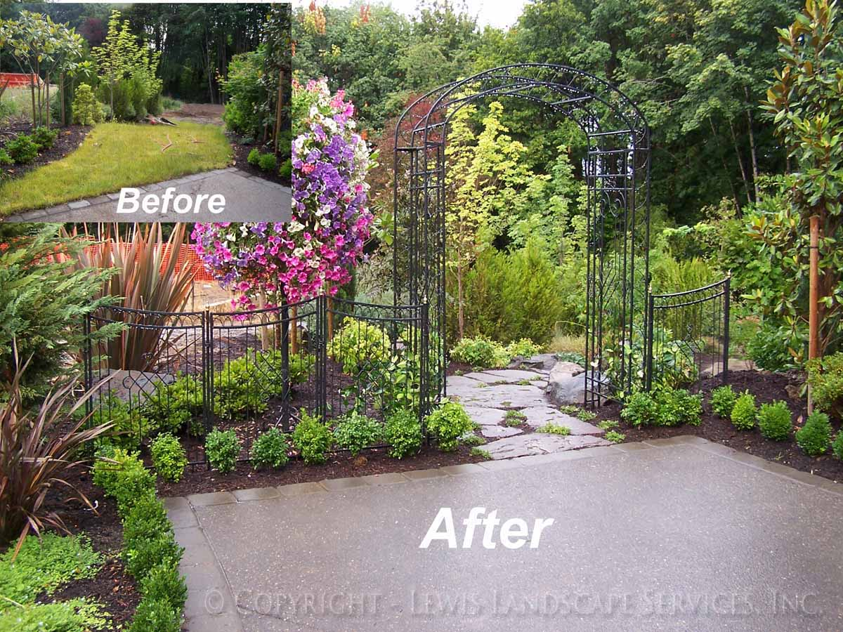 Front Yard Before - After