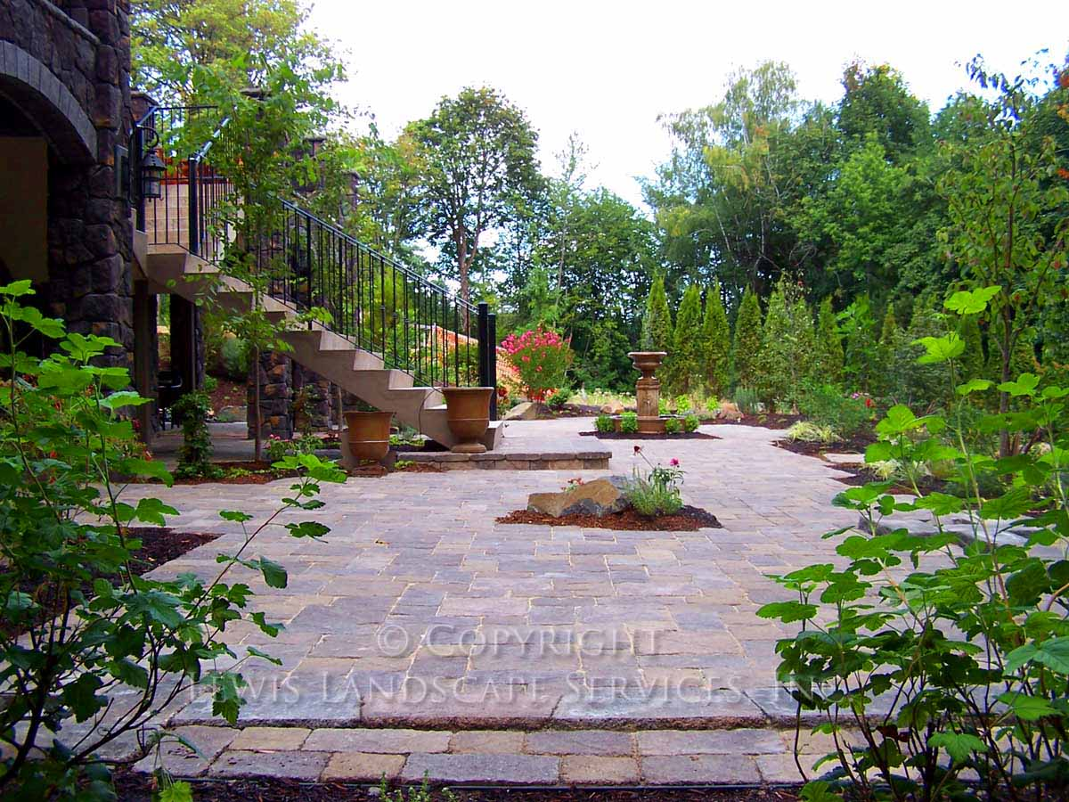 Overall Photo of Paver Patio