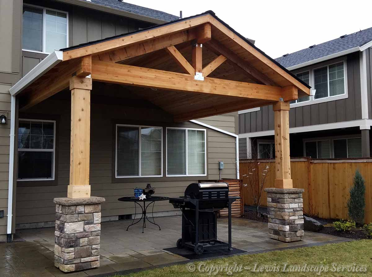 Gabled Roof Structure