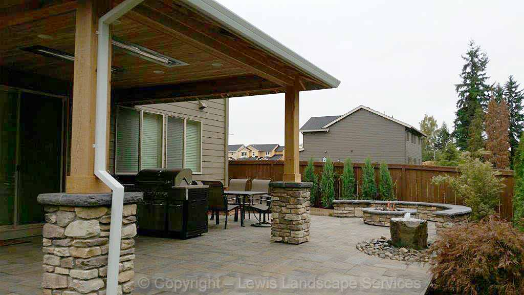Covered Structure, Outdoor Kitchen & Heaters, More...