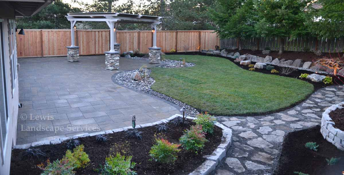 Photo of Entire Back Yard Remodel Project