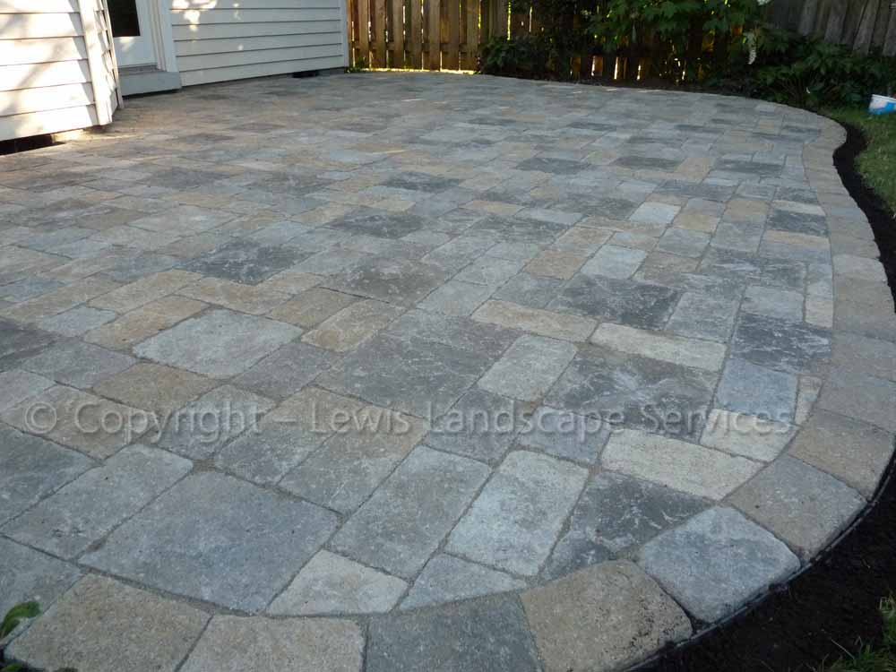 Paver Patio - Venetian Stone Pavers