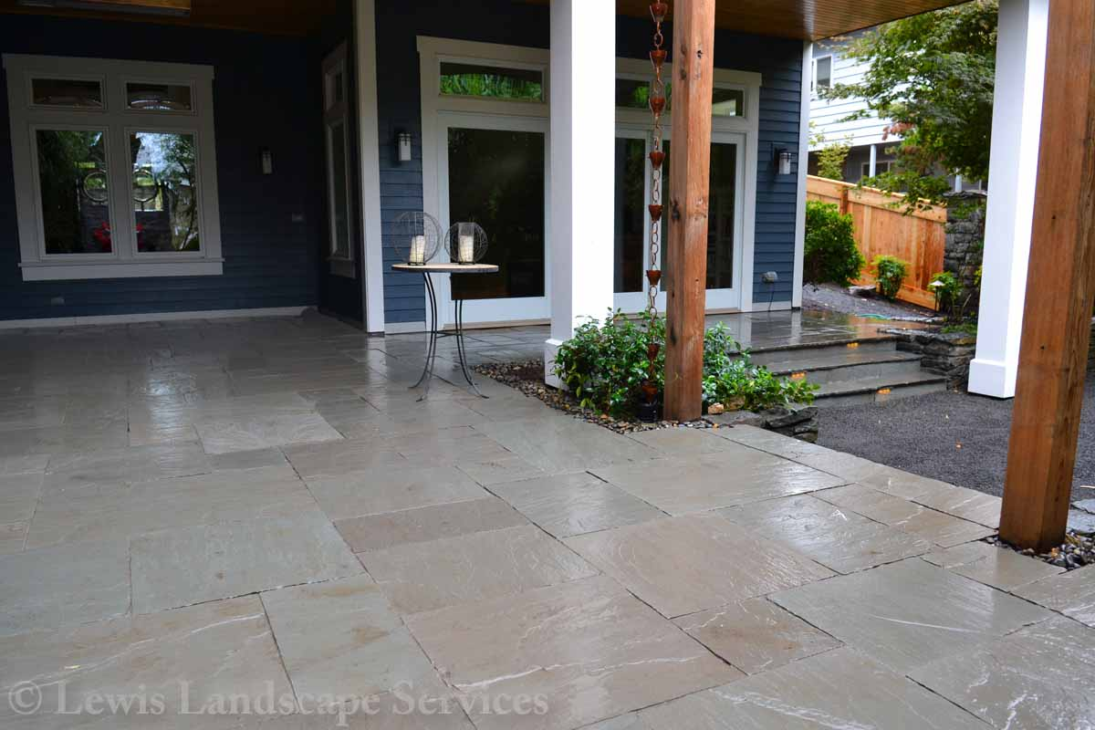 Back Yard - Stone Patio