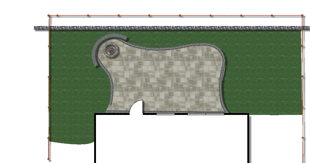 Patio Design - Plan View