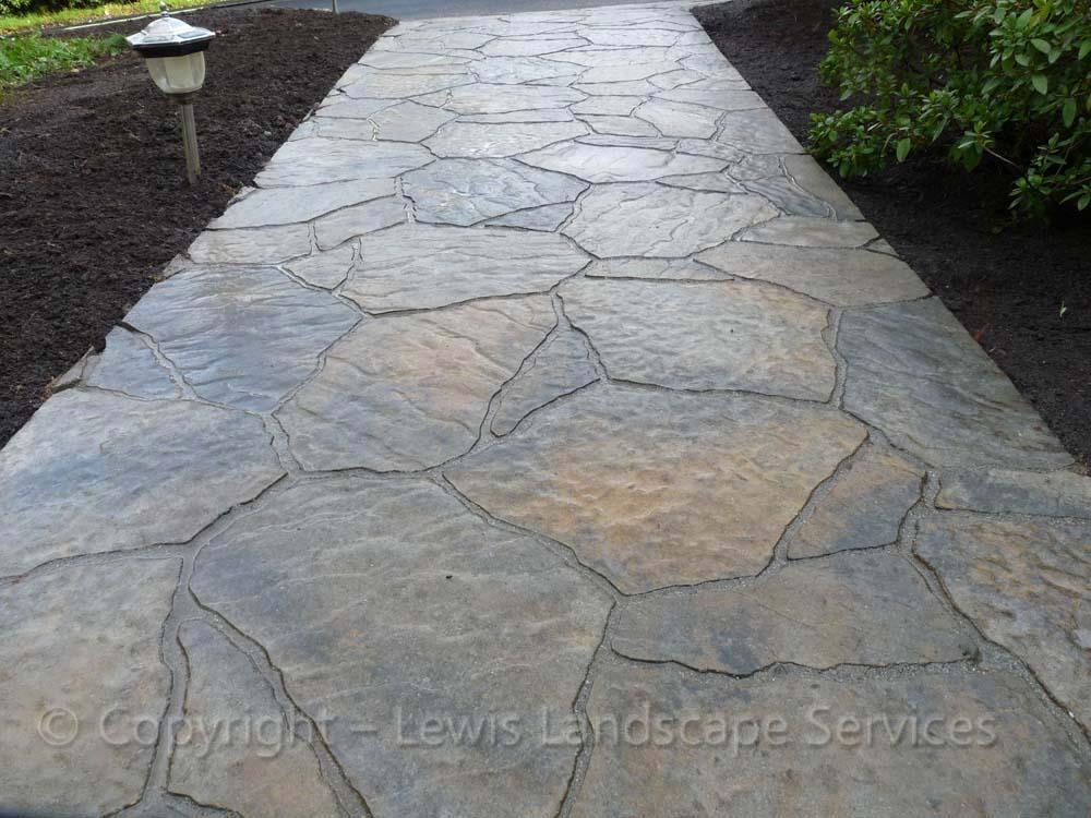 Paver Pathway - Mega Arbel Pavers by Belgard