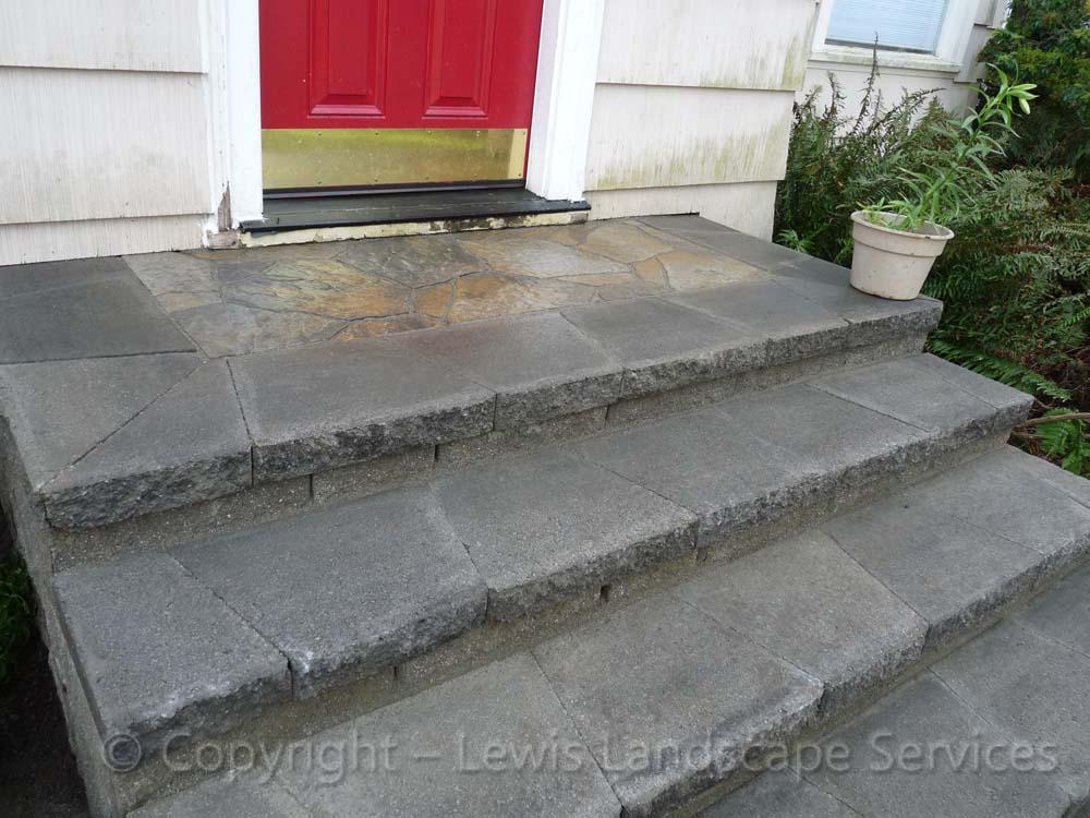 Paver Landing/Steps