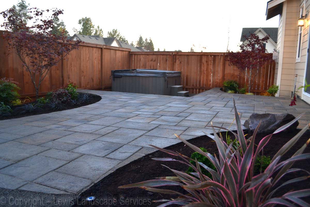 Paver Patio & Landscape