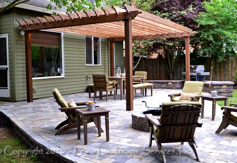 Outdoor-living-spaces-Paver Patio, Pergola, Fire Pit, Seat Walls-patios-driveways-pathways-williams-project-summer-2011 003