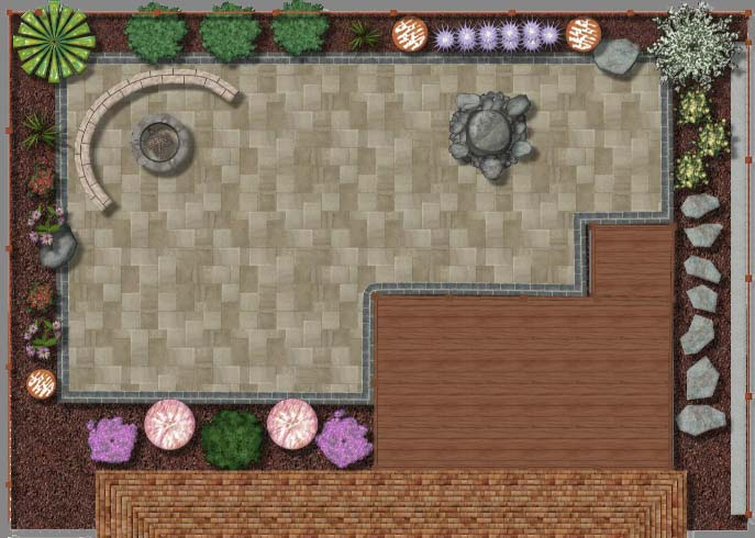 Landscape Design Plan 2D