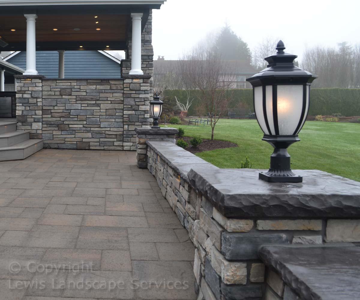 Seat-walls-courtyard-walls-columns-hampton-project-fall-14 002