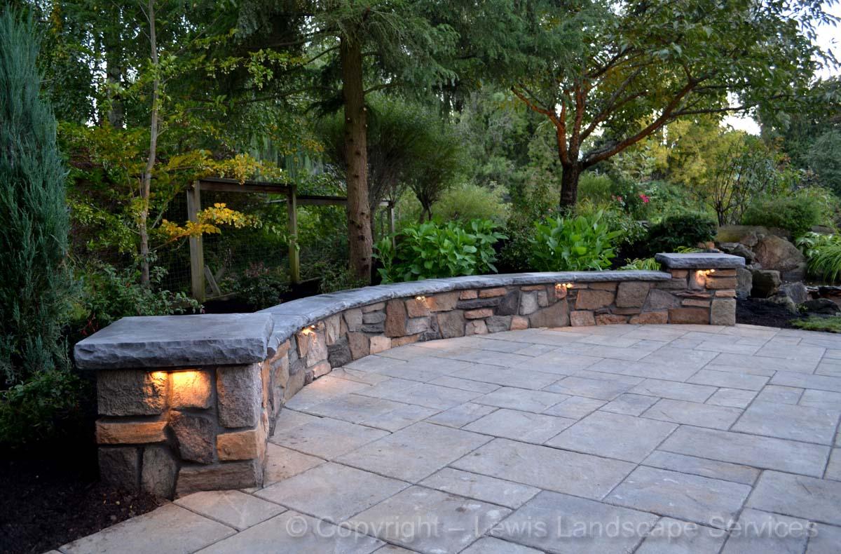 Seat-walls-courtyard-walls-columns-maloney-project-2013 000
