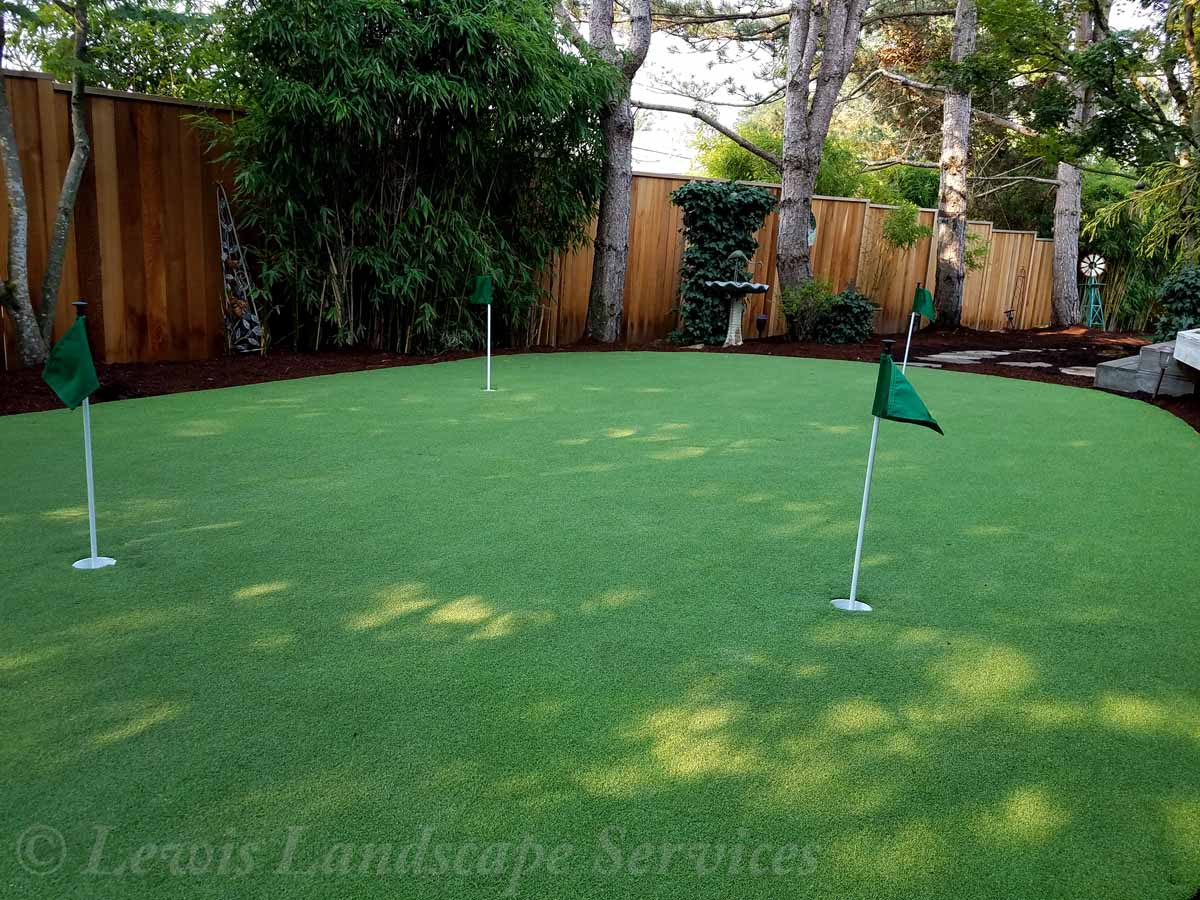 Golf Putting Green Installation
