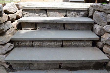 Pennsylvanie Bluestone Patio Steps