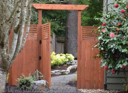 Custom Arbor & Fence Installation in Portland, OR we did