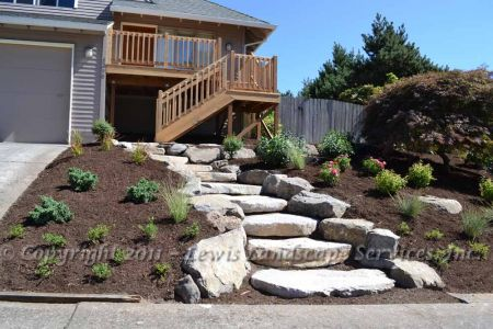 Rock Slab Steps