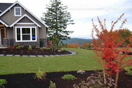 Front Yard Sod Lawn & Landscape