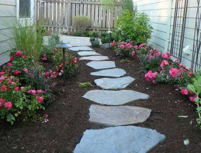 Individual Flagstone Steps
