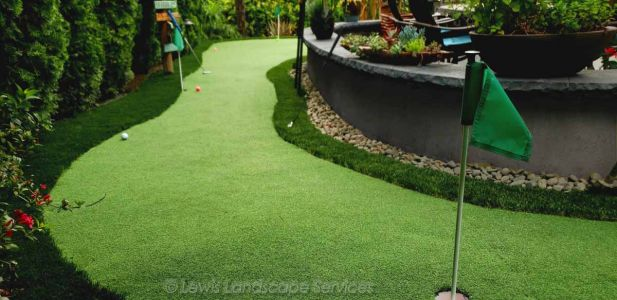 Putting Green Installation