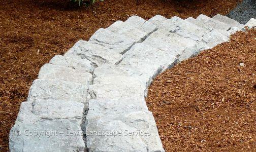 Basalt Curb Stone Steps