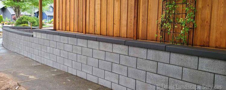 Retaining Wall in Beaverton Oregon