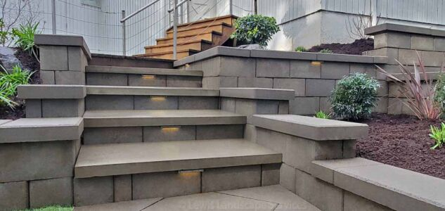 Retaining Walls & Steps We Built in Portland