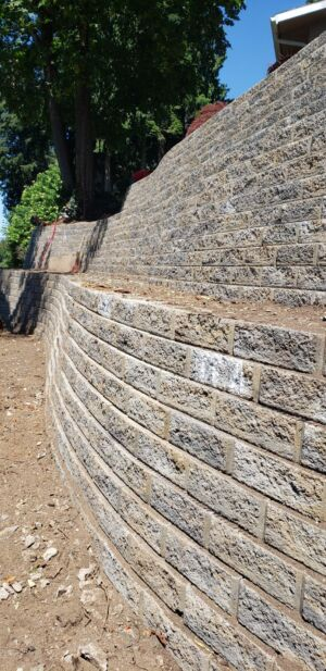 Terraced Retaining Walls