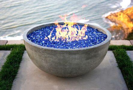 Small Concrete Fire Bow (Gas)