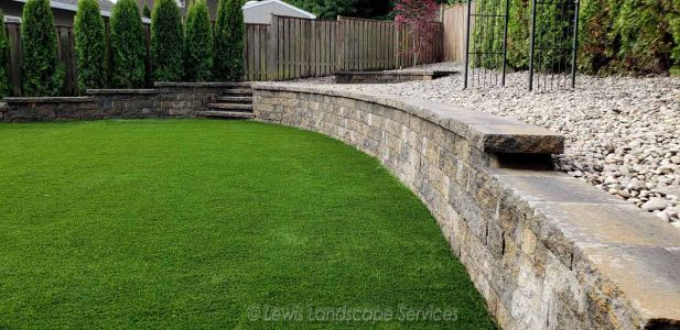 Segmental Retaining Wall & Steps