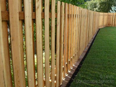 Good Neighbor Style Fence at installation we did in Hillsboro, OR - Fence Builders