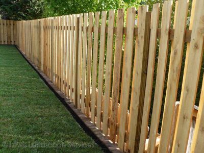 Standard Cedar Good Neighbor Fence we installed in Hillsboro, Oregon - Fence Installation Companies