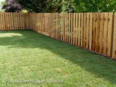 Standard Good Neighbor Cedar Fence we built in Hillsboro OR - Fence Installation Companies