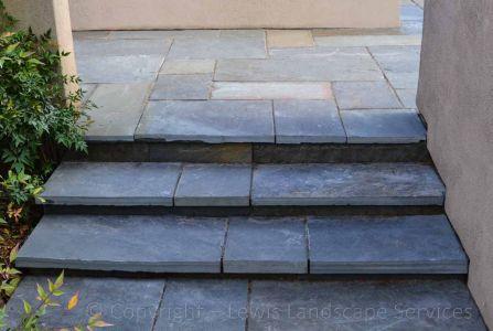Pennsylvania Bluestone Pathway & Steps