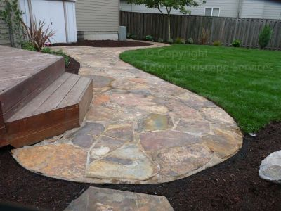 Flagstone Patio/Pathways